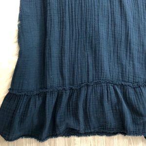 Anthropologie Dresses - CLOTH & STONE Gauze Dress Halter Indigo S